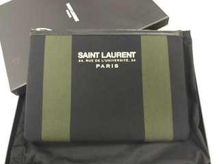 Saint Laurent Paris ipad pouch