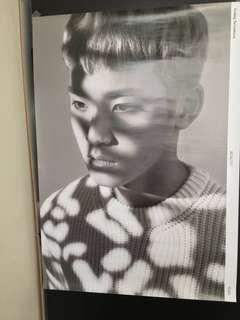 SEVENTEEN Mingyu Going Seventeen Poster