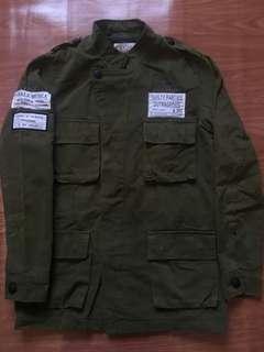 Military Jacket Parka Vintage Freaks And Geeks Costume