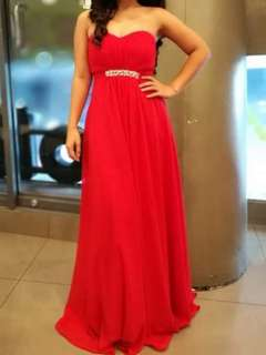 Long gown - Red
