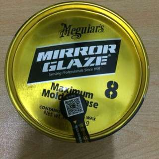 Meguiars Mirror Glaze 8 Maximum Mold Release Wax