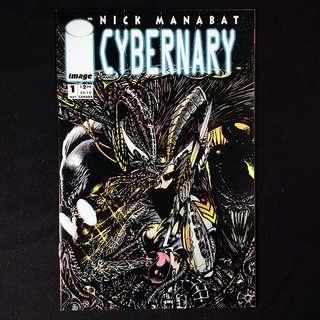 CYBERNARY #1 (1993 Image) Nick Manabat