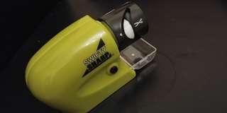 乾電池 電動磨刀器 electric knife millstone