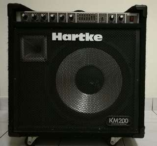 keyboard Amplifier hartke km200
