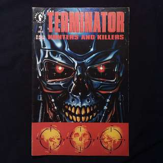The TERMINATOR Hunters And Killers #1 (1992 Marvel)