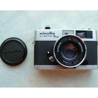 Minolta Hi-matic 7sII 40mm F1.7