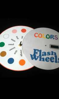 DIY Color Flash Wheel