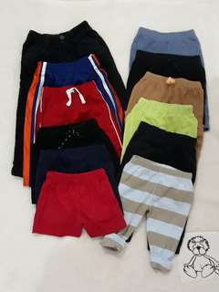 Take all 12 pcs bottoms (trousers/pants/shorts)