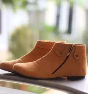 Sepatu Boots Wanita Korean Style
