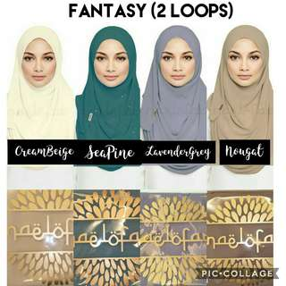 (Clearance Sale) Naelofar/Duck Hijab