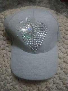 2 Bling caps +1 Black cap