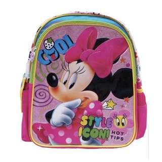 BNIB Minnie Mouse School Bag - Large