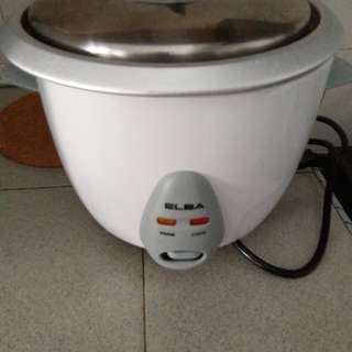 Elba heater and Rice Cooker