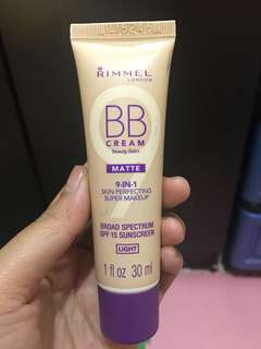 Rimmel BB cream matte 9in1 30ml