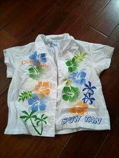 🚚 Disney 花襯衫