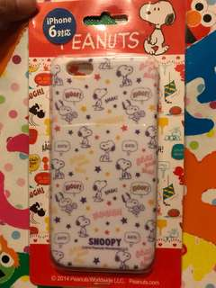 Snoopy iPhone 6 case