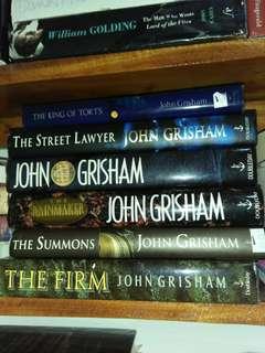 John Grisham Books Hardbound