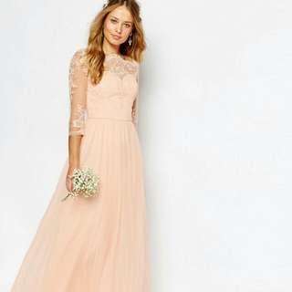 Gown Bridesmaid Dress Wedding Entourage