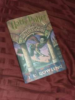 Harry Potter and the Sorcerer's stone hardbound