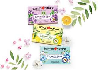 Human Heart Nature Scented Cleansing Bar
