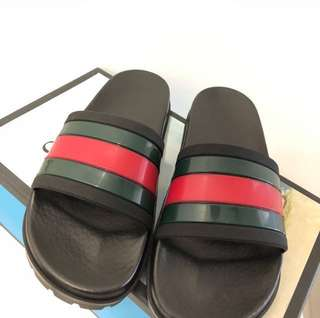 Preloved Gucci Web Sandal