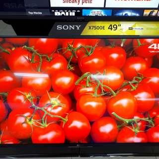 Led Tv SONY 49 Inch Android Tv 4K (Cicilan TANPA CC)