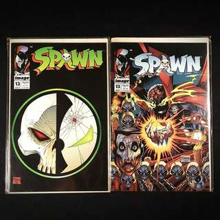 SPAWN #12, 13 (1993 Image) Todd McFarlane [Lot of 2]
