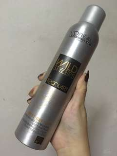 L'Oréal professionnel wild stylers next day hair