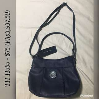Tommy Hilfiger Hobo and Bowler Bags