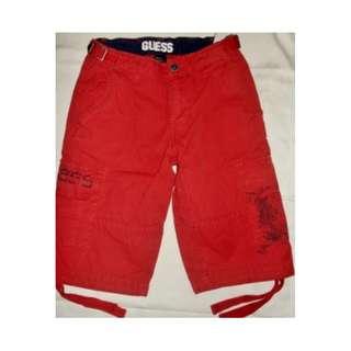 Guess - Maroon Shorts