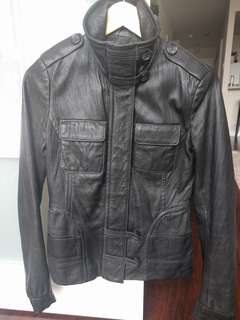 Price drop 2XS Danier Leather Jacket
