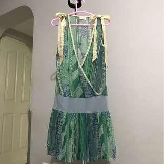 Chiffon outwear dress