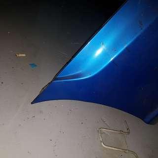 Subaru GDB MY03-MY07 Sit rear bumper