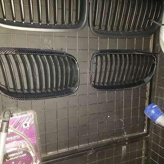 BMW F10 Matt Black Kidney Grille