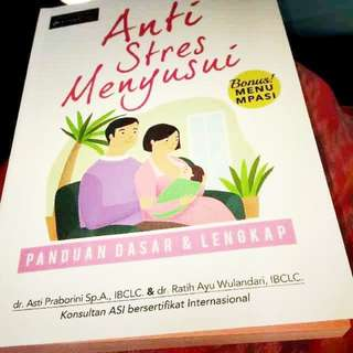 Buku anti stres menyusui