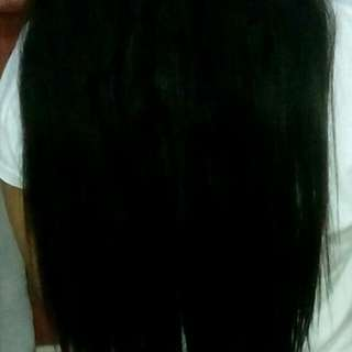 Healthy Black Human Hair