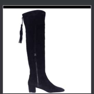 NINE WEST OVER THE KNEE THIGH HIGH BOOTS