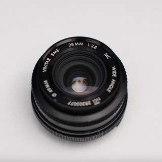 VIVITAR SMS (Nikon mount) 28mm 2.8
