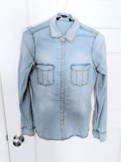 ZARA Denim Shirt sizeM