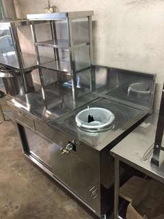 Mee goreng Stainless Steel stall ( store )