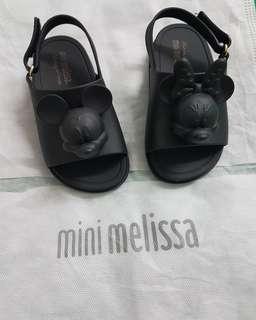 Mini Melissa Mickey Head Black