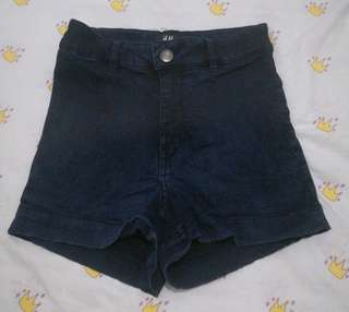 H&M Denim Highwaist Short