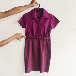 Corporate Purple Dress