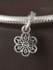 Pandora Floral Daisy Lace Pendant Charm
