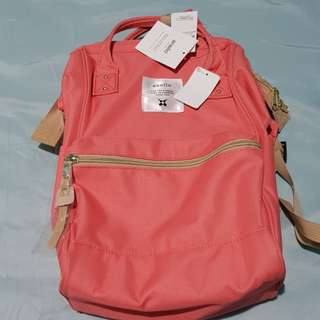 Authentic Anello Pink Mini Backpack