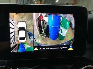 360 panorama camera for easier parking. This system if installed at agent will cost you a bomb but at Dats Auto it is much cheaper to install.Contact us via phone sms or whatsapp at 82700007 to find out more!
