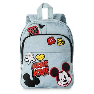 Mickey Mouse Embroidered Mini Backpack