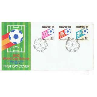 FDC #41  1982 World Cup Soccer
