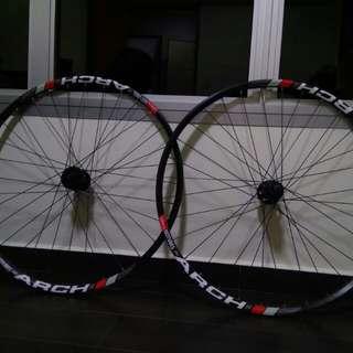 Wheelset rims 29 inch