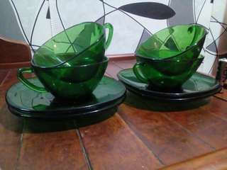 OFFER!! VERECO ALL GREEN CUP SET